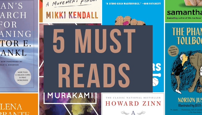 top 5 books to read in 2020