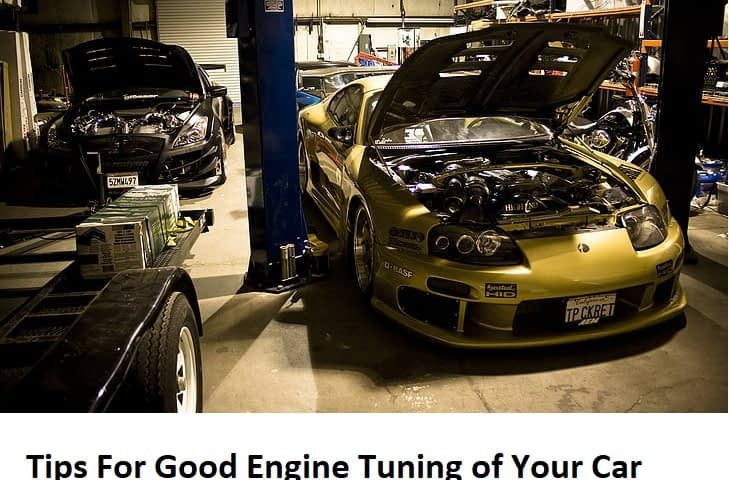 Engine Tuning of Your Car