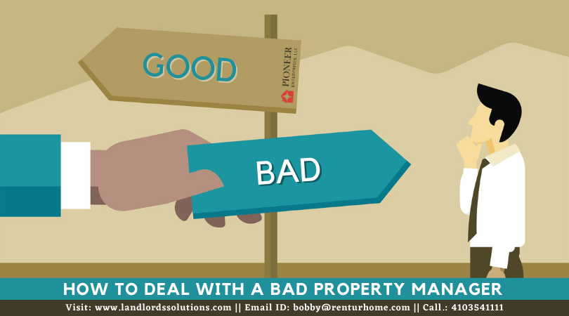 Deal with Bad Property Manager